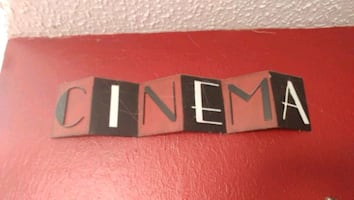Movie theater themed wall decoration lot