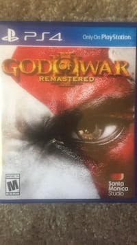 PS4 God of War Remastered game case Elizabethtown, 42701