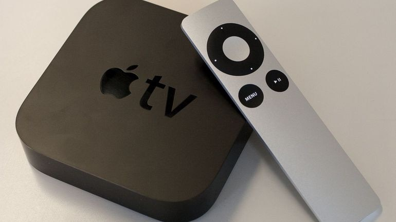 black and white Apple TV box for sale  Edmonton