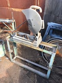 """14"""" Cutoff Machine with Steel Stand. Los Angeles, 91606"""