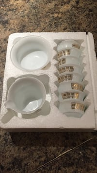 white ceramic bowl set in box Vancouver, V5Z 2S1