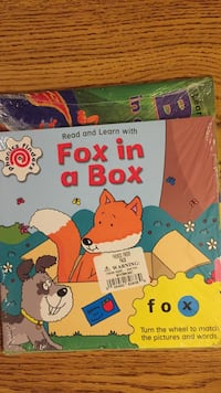 New Fox in a Box & Bug in a Rug w/movable wheels-ox & ug sounds-in shrink wrap Columbia, 21045