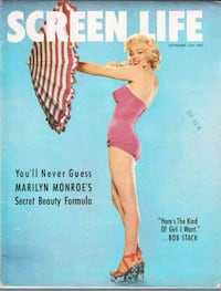 SCARCE 1953 SCREEN LIFE MAGAZINE MARILYN MONROE  1194 mi