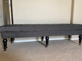 New upholstered bench  Beautiful bench for multi purpose