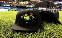 Blue Jays Pride hat - great gift for the holidays  535 km