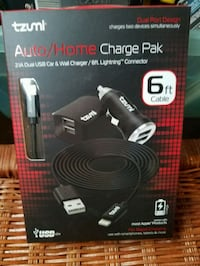 NEW LIGHTNING AUTO/HOME CHARGE PAK