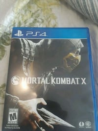 PS4 Mortal Kombat X game case Saint Petersburg, 33714