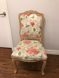 Floral Chair - vintage look, shabby chic TORONTO