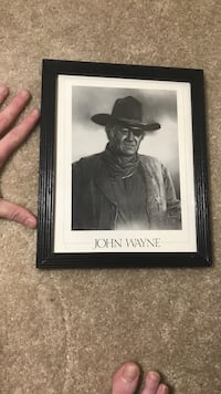 John Wayne poster perfect condition Herndon, 20171