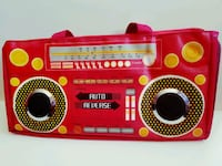 RETRO STYLISH BOOMBEATS BAG WITH BUILT IN SPEAKERS