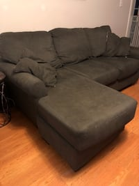 Sofa w/ Chaise and two matching chairs - Dark Gray Richmond, 23226