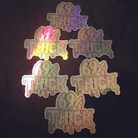 Sticker Holographic 69% Thick  Simi Valley, 93063