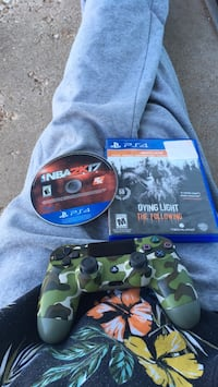 two assorted Sony PS4 game discs Lubbock, 79404