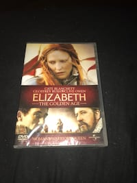 Elizabeth The Golden Age DVD-saken