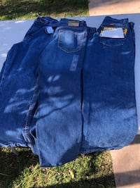 Blue and black denim bottoms Lamont, 93241