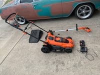 Battery lawn mower and edger - black and decker  Watauga, 76148