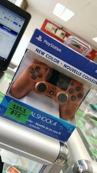 Sony playstation controller Gold in color  Toronto, M5A 2G7