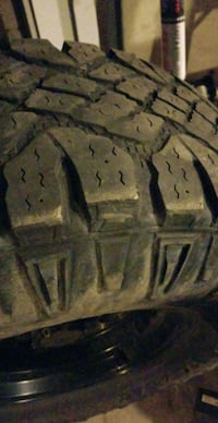 Rims and tires- set of 5 Brampton, L7A