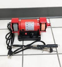 "New $45 Mini 3"" Bench Grinder w/ Flex Shaft Variable Speed Grinding Sharpener Polisher South El Monte"