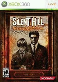 Xbox360 SilentHill homecoming  Winnipeg, R2W
