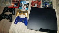 Playstation 3 with 5 games Richmond