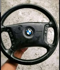 Bmw steering wheel and airbag