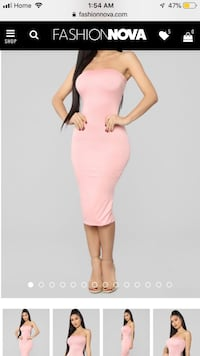 Fashion Nova strapless dress  Toronto, M6L 2P2