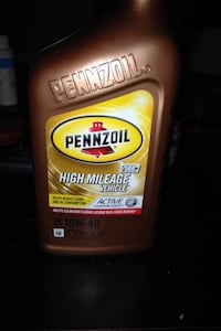 Pennzoil high mileage vehicle container Surrey, V3R 4Z3