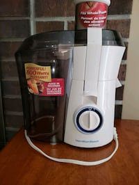 Hey healthy BEFORE new year! Juicer - Hamilton Beach Mississauga, L5N 2A2