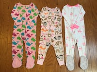 pajamas for toddler girls Bowie, 20716