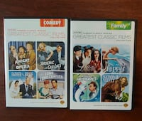 8 Classic movies in 2 collections