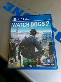 Watch Dogs 2 PS4 game case Conroe, 77304