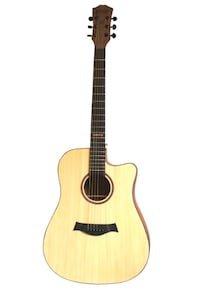 Acoustic guitar for beginners 41 inch full size cutaway Brand new