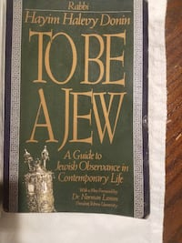To Be A Jew REISTERSTOWN