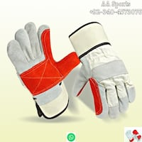 Double, Cotton-Lined Palms Gloves