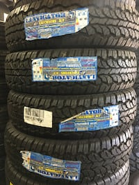 LT235/85R16 SET OF 4 TIRES ON SALE WE CARRY ALL MAJOR BRAND AND SIZE  San Ramon, 94583