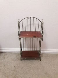 brown wooden baker's rack Clearfield, 84015
