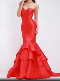 Red mermaid gown,scroll down to view more  Brampton, L6Z 0B4