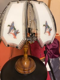 brown and white table lamp North Chesterfield, 23236