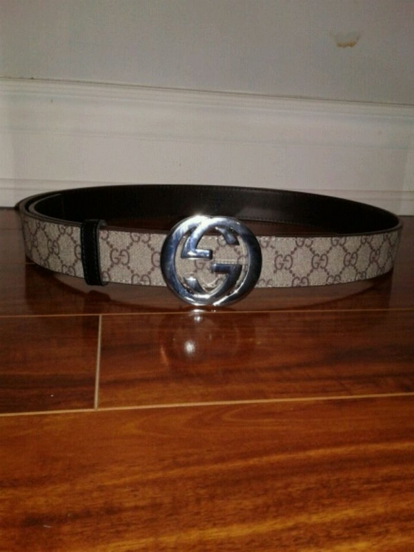 742d18ae1a5 Used 100% authentic GG Supreme Gucci belt size  30-38 for sale in ...