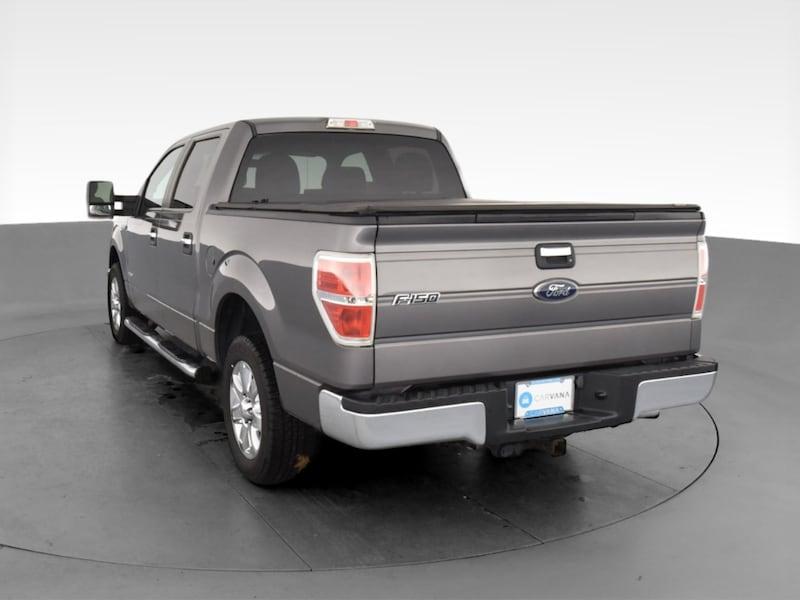 2013 Ford F150 SuperCrew Cab pickup XLT Pickup 4D 5 1/2 ft Gray ea1ce077-978b-4aae-809d-277eacce99bc