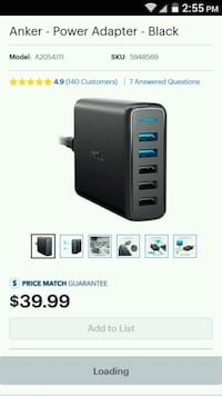 Anker multi charger North Bergen, 07047