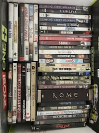 Box of Movie/TV Shows Manassas, 20112