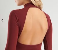 New Garage Open Back Burgundy BodySuit Windsor, N8N 0A6