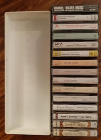 15 Relaxing Mood setting Cassettes with case Pick-up in Newmarket Newmarket