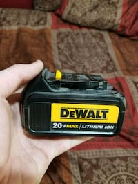 Large dewalt battery  Roseville, 95661