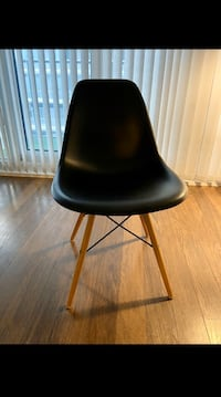 4 Black Eames Style Chairs  Toronto, M4S