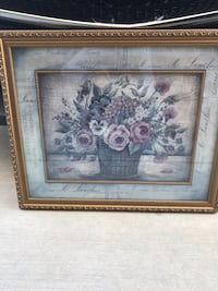 Pair of framed floral prints Columbia, 21044