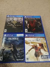 Ps4 games in excellent condition Tulsa, 74107
