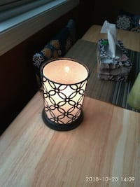 Brand new light bulb candle